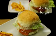 aloo tikki burger recipe – potato patties burger recipe