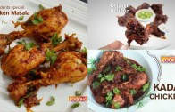 Chicken recipes – Kadai chicken – Chicken lollipop – Students Special Chicken Masala | Compilation