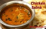 Chicken salna – Chicken salna for porota – Madurai style salna – சிக்கன் சால்னா