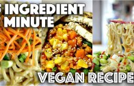 EASY VEGAN RECIPES FOR LAZY PEOPLE – 5 MINUTES 5 INGREDIENTS