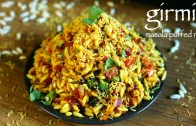 girmit recipe – masala puffed rice – north karnataka mandakki upkari