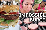 LIFELONG VEGETARIAN TRIES IMPOSSIBLE BURGER – Toronto Vegan Food & Drink Fest.