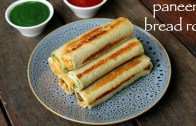 paneer bread roll recipe – bread paneer rolls – paneer stuffed bread rolls