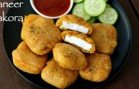 paneer pakora recipe – how to make crispy paneer pakoda