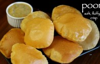 poori recipe – how to make puffy puri – how to make milk poori recipe