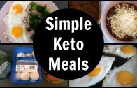 Simple Keto Meals – Full Day Of Low Carb Ketogenic Diet Eating