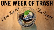 THIS WAS ALL MY TRASH FOR A WEEK – zero waste challenge part 2