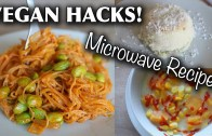 VEGAN FOOD HACKS YOU NEED TO TRY – microwave – dorm-friendly