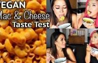 VEGAN MAC + CHEESE TASTE TEST w – my roommate