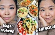 What I Ate in a Day – NUTRIENT DENSE VEGAN – Skincare/Makeup Routine