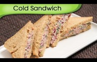 Cold Sandwich – Quick Five Minutes Snack – Tiffin Recipe By Ruchi Bharani
