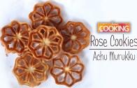 Eggless Rose Cookies – Achu Murukku –  Homemade Achu Murukku Recipe