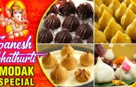 Ganesh Chaturthi Modak Special – 7 Types of Modak Recipes – Indian Sweet Recipe – Rajshri Food