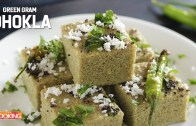 Green Gram Dhokla – Moong Dal Dhokla Recipe – Healthy Snack Recipe