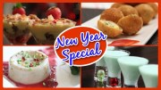 New Year Special – Party Recipes – Starters – Cocktail – Cake – Appetizers