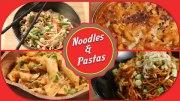 Noodles And Pastas – Easy To Make Chinese And Italian Recipes By Ruchi Bharani
