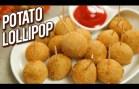 Potato Lollipop Recipe – Veg Lollipop – Quick & Easy Starter Recipe – Potato Snack – Varun