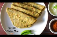 Pudina Paratha – Easy pudina paratha recipe – Home Cooking