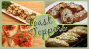 Toast Toppers – Quick & Easy To Make Snacks – Party Appetizer Recipes