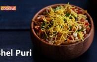 Bhel Puri – Indian Bombay Chaat – Bhel Chaat Recipe with Tamarind & Mint Chutney