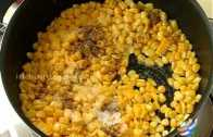 Creamy Corn With Buttered Toast Recipe