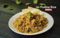 Pudina Rice – Mint Rice – Lunch Box Recipe – Ventuno Home Cooking