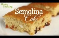Semolina Cake – How To Make Semolina – Sooji Cake – Easy Cake – Dessert Recipe