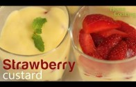 Strawberry Custard Recipe – Ventuno Home Cooking