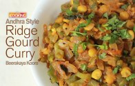 Andhra Style Ridge Gourd Curry – Beerakaya Koora –  Ventuno Home Cooking