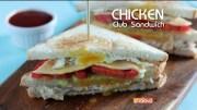 Chicken Club Sandwich – How To Make Chicken Club Sandwich – Easy Sandwich Recipe