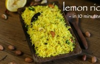 lemon rice recipe – chitranna recipe – karnataka nimbehannu chitranna
