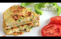 Oats Omelette – Healthy Breakfast Recipe – Diet Food