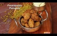 Pesarapappu Punugulu Recipe – Green Gram (sprout) Fritters