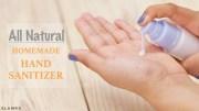 DIY Homemade Natural Hand Sanitizer