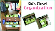 Kids Closet Organization – Toddler Closet Tour