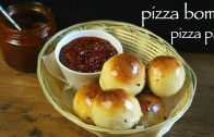 pizza bombs recipe – veg pizza bomb recipe – how to make pizza pav recipe