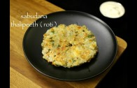 sabudana thalipeeth recipe – sabakki rotti recipe – sabudana roti recipe – upvas recipe