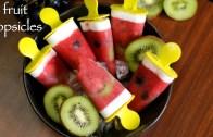popsicle recipe – fruit popsicles recipe – homemade ice pop recipe