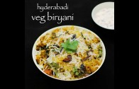 hyderabadi vegetable biryani recipe – veg biryani recipe