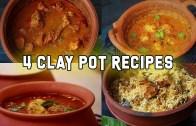 4 Clay pot Recipes – 4 Recipes in clay Pot – Clay Pot Cooking