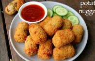 potato nuggets recipe – spicy potato nuggets – how to make potato snacks recipes