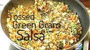 Tossed Green gram salsa Recipe
