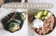 Healthy Lunches for Work & School – EASY – QUICK Meal Prep Ideas