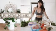Productive Sunday Routine – Healthy Groceries – Cleaning &amp – Organizing