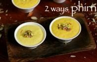 phirni recipe – firni recipe – phirni sweet recipe – how to make rice phirni