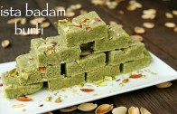 pista badam barfi recipe – pista badam burfi – how to make badam pista barfi