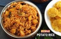 Potato Rice – Aloo Rice Recipe – Lunch Box Recipes