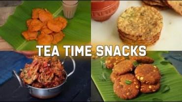 Tea-Time Snack Recipes – Tea Time Indian Snacks