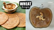 Wheat Recipes – Wheat Parotta – Lachha Paratha – Wheat Halwa parantha