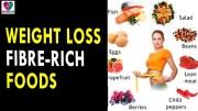 Weight loss Fiber Rich Foods  – Health Sutra – Best Health Tips